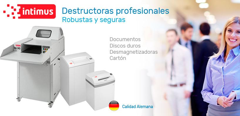 Destructoras profesionales