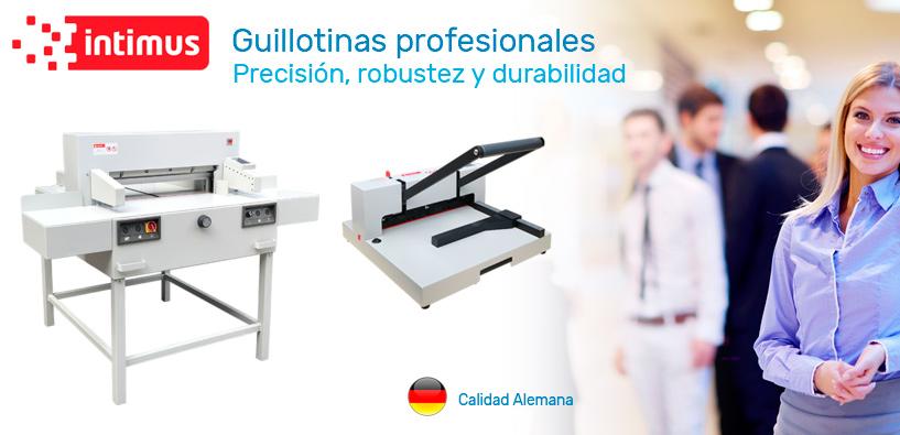 Guillotinas profesionales calidad Alemana