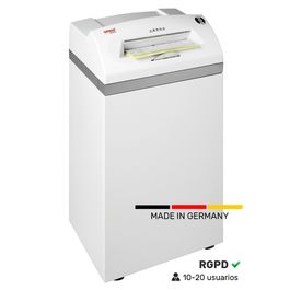 Destructora profesional de uso intensivo Intimus. Fabricada en Alemania