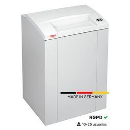 Destructora profesional 175 litros. Fabricada en Alemania.