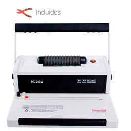 Encuadernadora de espiral manual profesional Neodal PC-200A