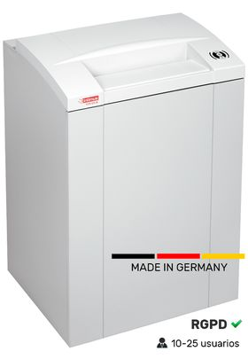 Destructora 175 litros profesional Alemana