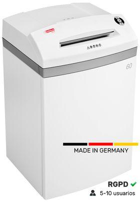 Destructora profesional Intimus 60 CP7 hecha en Alemania